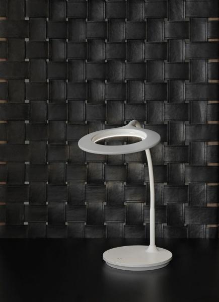 Circle LED Bordslampa Vit - Bordlampor. Fra Halo Designs