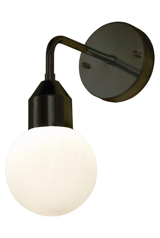 Florens vegglampe IP44 - Sort