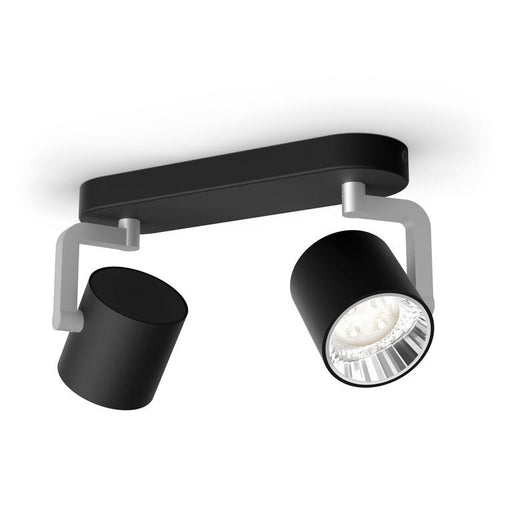 Byrl myLiving taklampe 2x4,3W LED - Sort