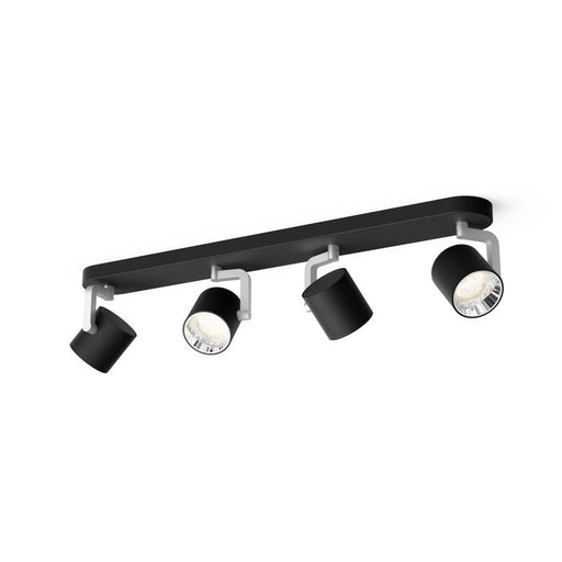 Byrl myLiving taklampe 4x4,3W LED - Sort