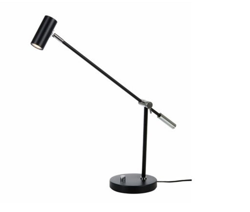 Cato dimbar bordlampe 3W - Matt sort