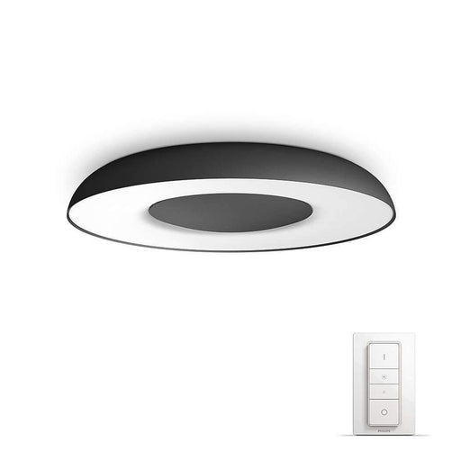 Philips Hue White Ambiance Still takplafond, sort