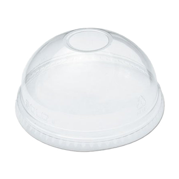 DL-98  Clear Dome Lid With Hole 1000'/Case