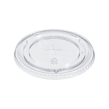 FL-92  Clear Flat Lid with Straw Slot  1000/Case