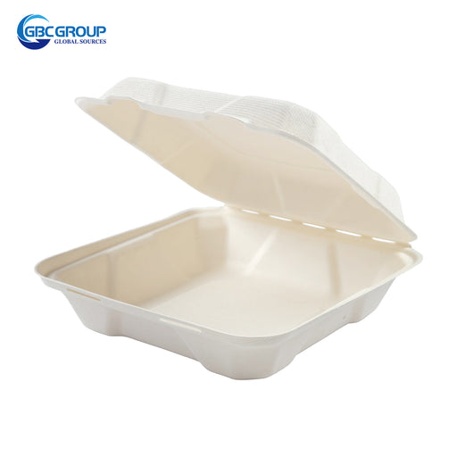 GD-771 MEDIUM SIZE FIBER HINGED LID CONTAINERS, 200/CASE