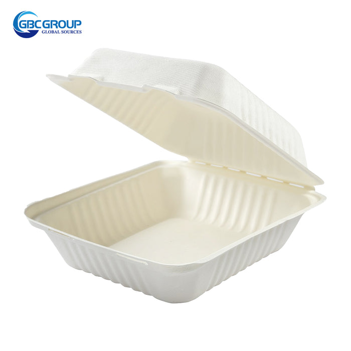 GD-881 MEDIUM SIZE DEEP HINGED LID CONTAINERS, 200/CASE