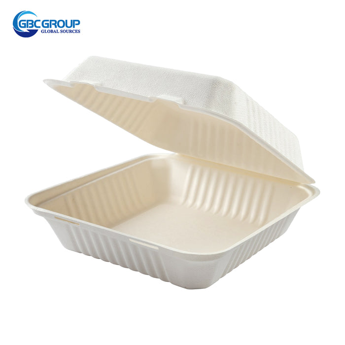 GD-991 LARGE SIZE FIBER HINGED LID CONTAINERS, 200/CASE