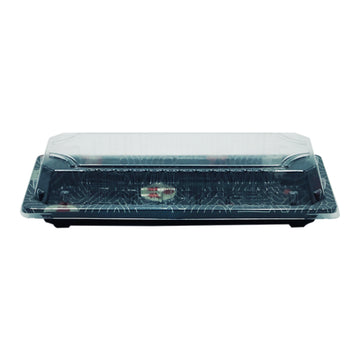 HQ-01 Sushi Tray With Clear Lid*1200Set/CS