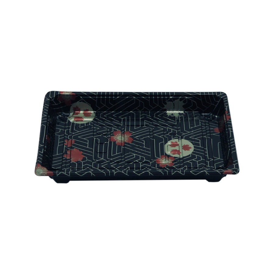 HQ-10 Sushi Tray With Lid*1200Set/CS