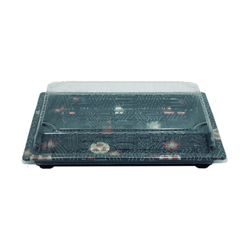 HQ-15 Sushi Tray With Lid*1000Set/CS