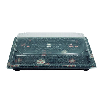 HQ-20 Sushi Tray With Lid*800Set/CS