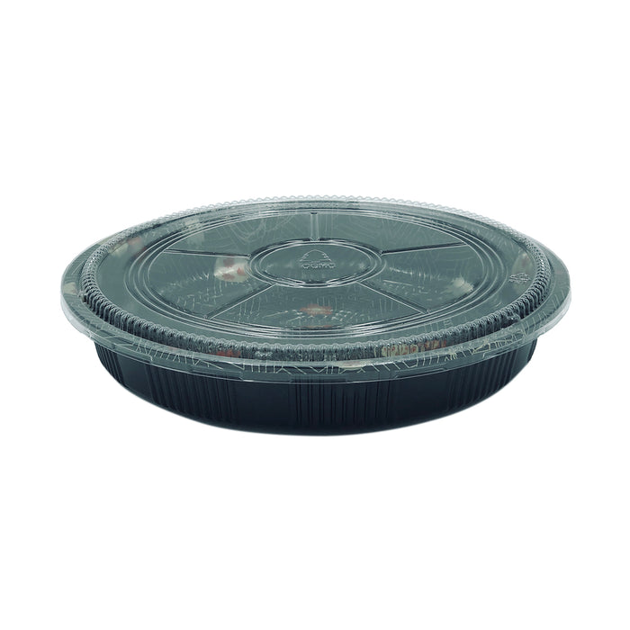 HQ-61 Round Party Tray With Lid 120Set/CS