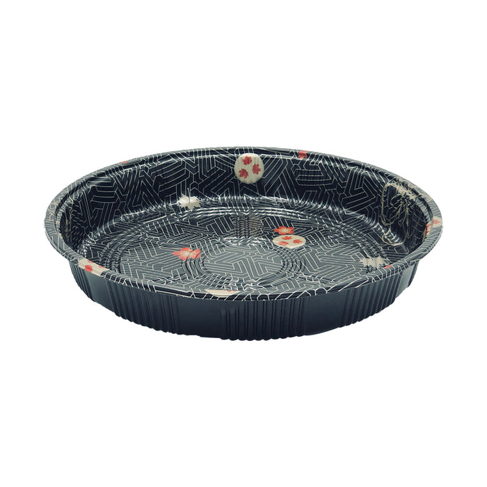 HQ-63 Round Party Tray With Lid 120Set/CS