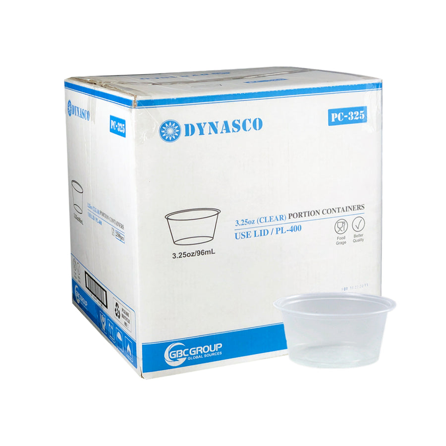 PC-325 3.25oz Clear Portion Cup 2500/CS