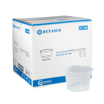 PC-400 4oz Clear Portion Cup 2500/CS