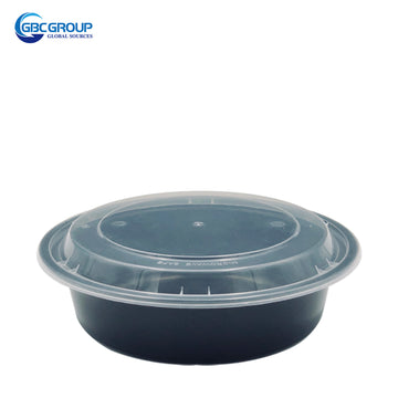 R-700 23oz Round Microwavable Container With clear Lid 150Set/CS