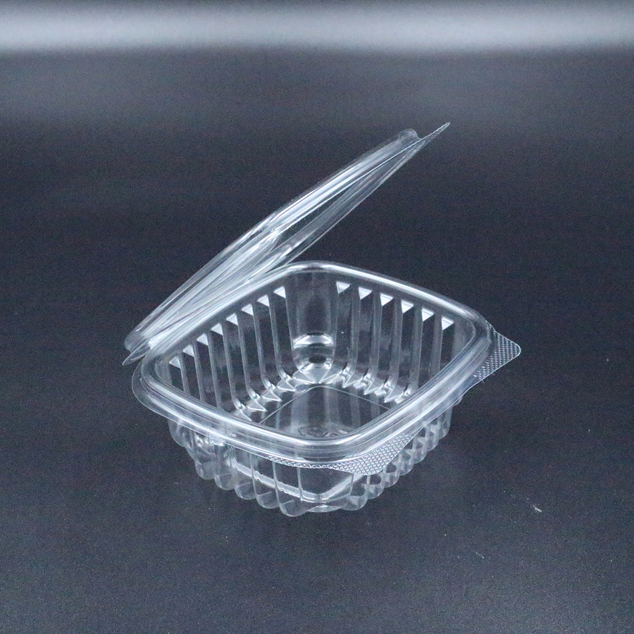 Dynasco HL-12 12oz Seal Clear Hinged Container 200/CS