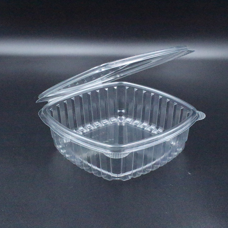 Dynasco HL-48 48oz Seal Clear Hinged Container 200/CS