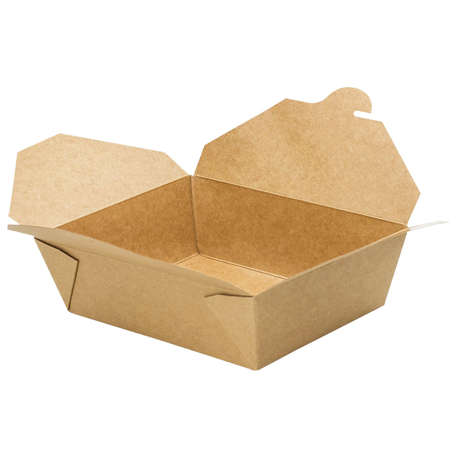 K-2200 #2 Kraft Take-Out Box 200/Case