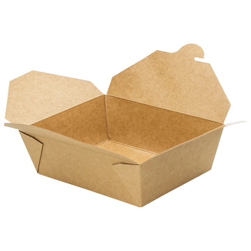 K-3200 #3 Kraft Take-Out Box 200/Case