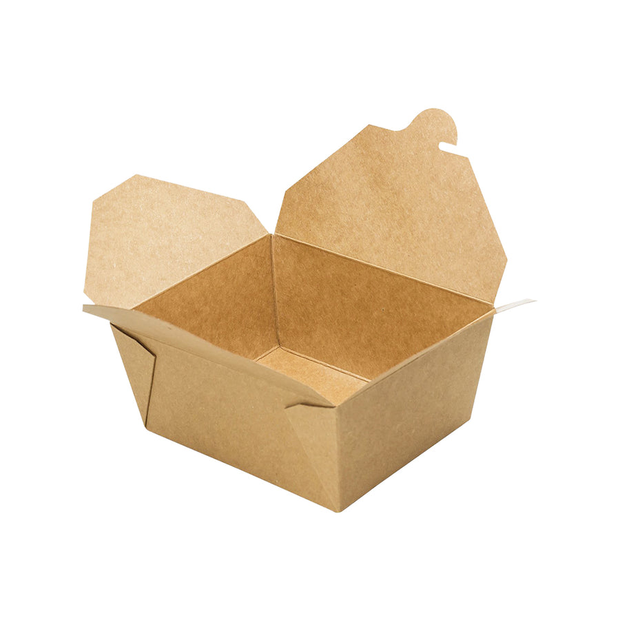 K-1450 #1 Kraft Take-Out Box 450/Case