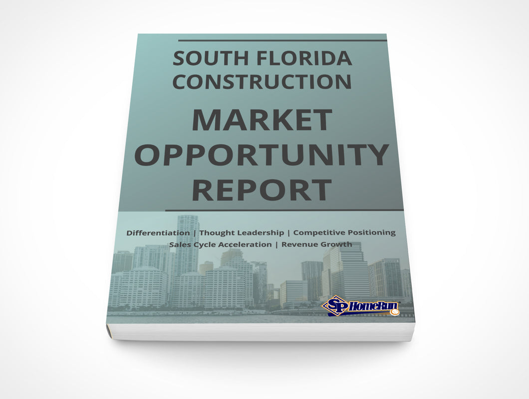 South Florida Construction Market Opportunity Report (Team License)