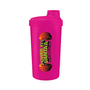 Power Fit Shaker 700ml, Pinkki