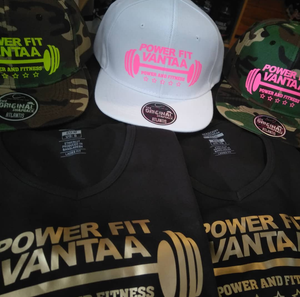 "Power Fit Snapback ""Power and Fitness"""