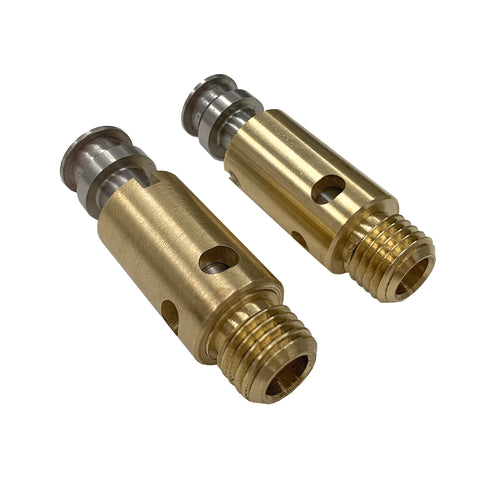 1932 through 1937, V-16 and V-12, Needle and Seat, CNC Precision Machined.(pair)