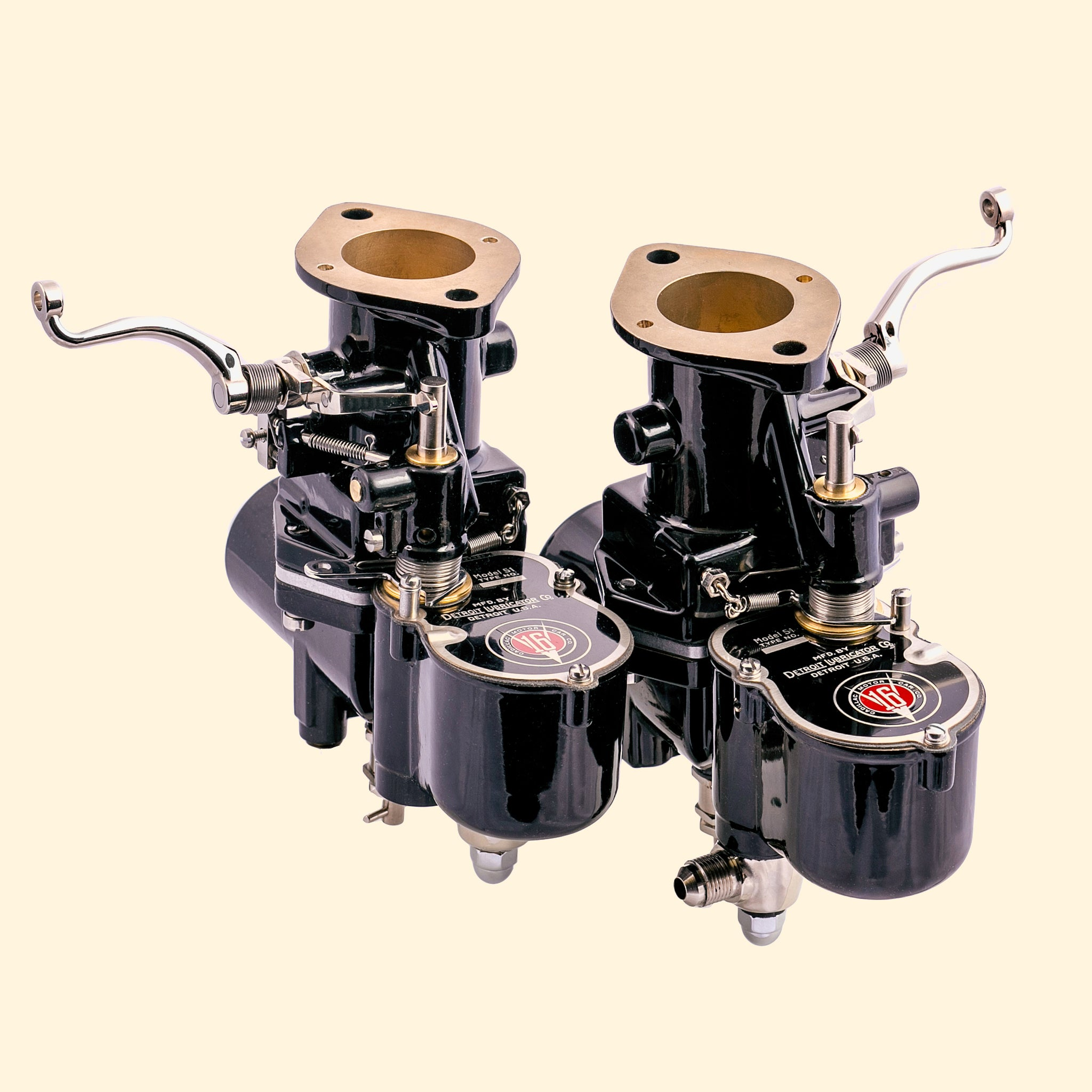 1932 to 1933 Cadillac V-16 Carburetors (Pair)