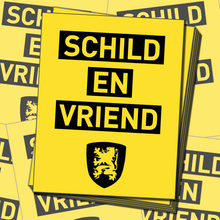 50X Schild en Vriend sticker