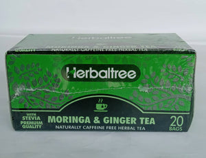 Herbaltree Moringa & Ginger Tea