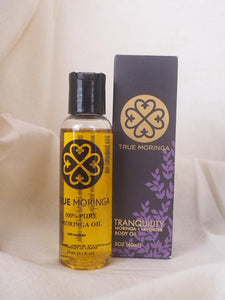 TrueMoringa Body Oil - Moringa and Lavender *Proudly Made in Ghana*
