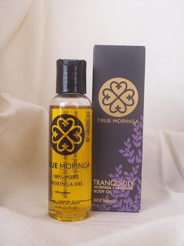 Body Oil - Moringa and Lavender *Proudly Made in Ghana*