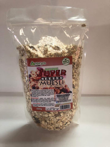 Super Seeded Muesli