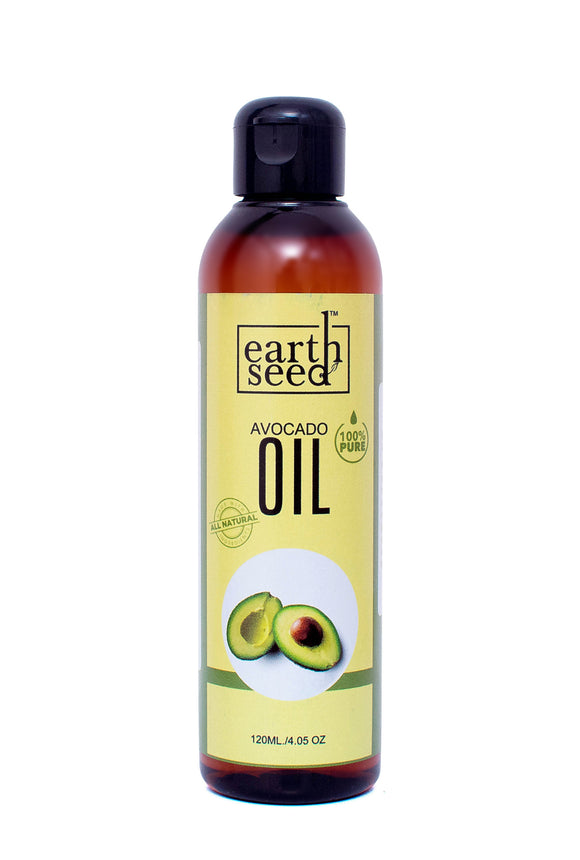 EarthSeed Avocado Oil, 100% Pure, 120ml