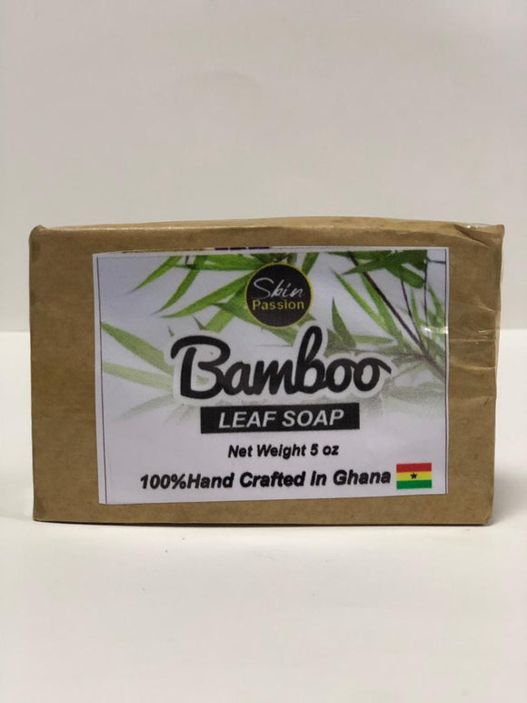 Skin Passion Bamboo Leaf  Bar Soap