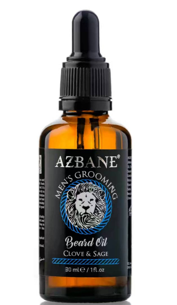 Beard Oil Men's Grooming Clove & Sage