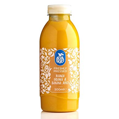 Blue Skies Mango, Orange and Banana Smoothie, 500ml