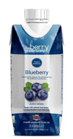 Blueberry Juice, 330ml, The Berry Company