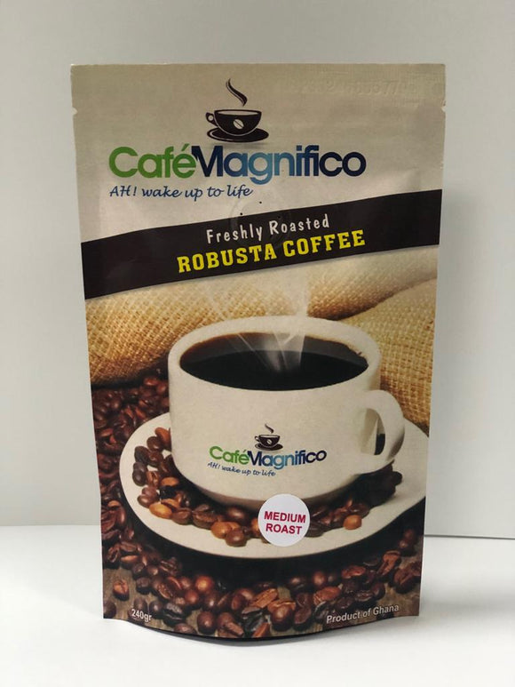 Robusta Coffee, Medium Roast, Cafe Magnifico