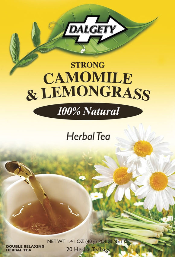 Camomile and Lemongrass Tea, Dalgety Teas - 40g