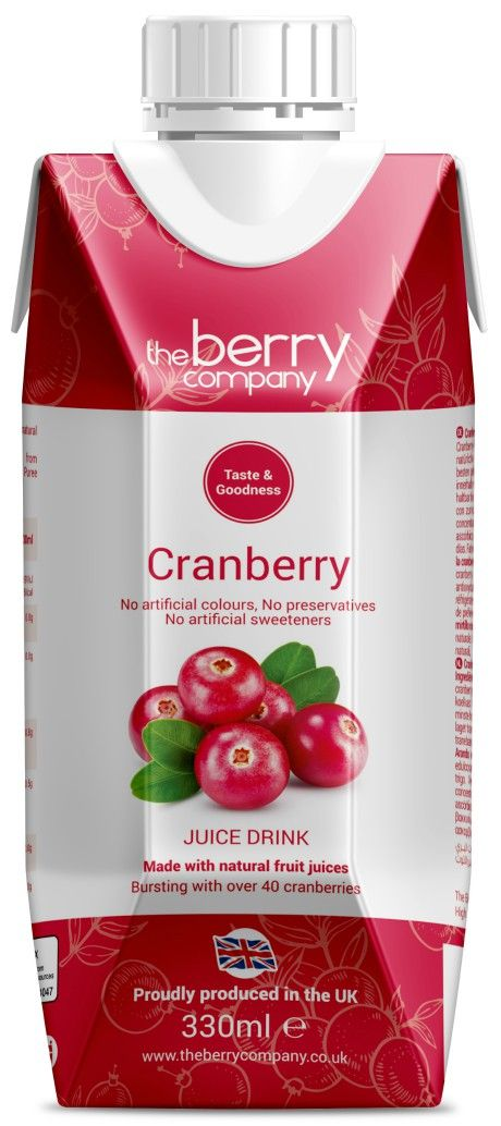 Cranberry Juice, 330ml, The Berry Company