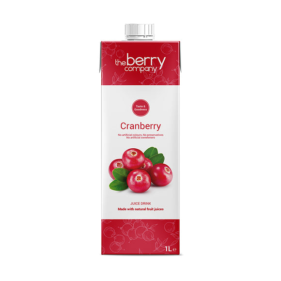 Cranberry Juice, 1 Litre, The Berry Company
