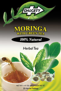 Moringa and Green Tea, Dalgety Teas - 40g