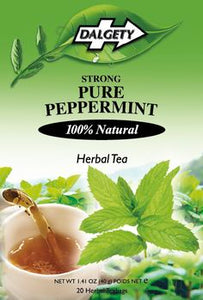 Peppermint Tea, Pure, Strong, Dalgety Teas - 40g