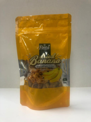 Dried Fruit Banana 100g (Finest)
