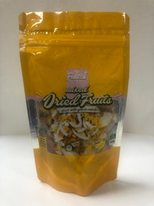 Dried Mixed Fruit, Mango/Banana/Pineapple/Coconut, 100g (Finest)