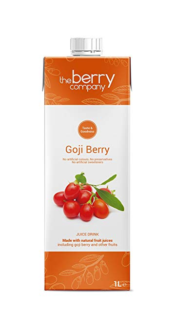 Goji Berry Juice, 1 Litre, The Berry Company