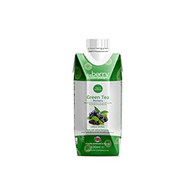 Green Tea and Blueberry Juice, 330ml, The Berry Company